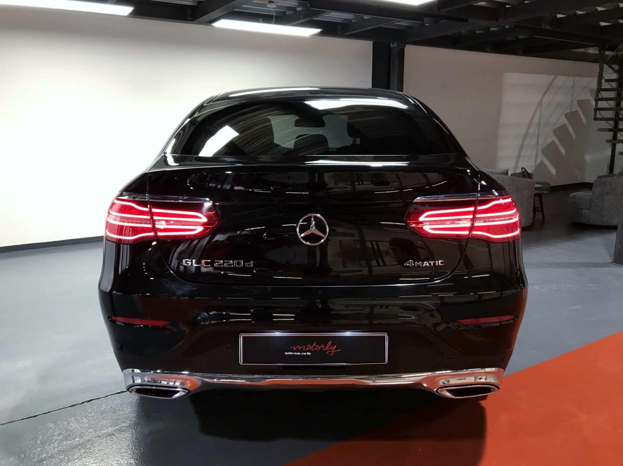 mercedes glc coupe 220 d business executive bva motorly. Black Bedroom Furniture Sets. Home Design Ideas