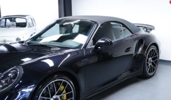 PORSCHE 911 (991) (2) CABRIOLET 3.8 580 TURBO S full