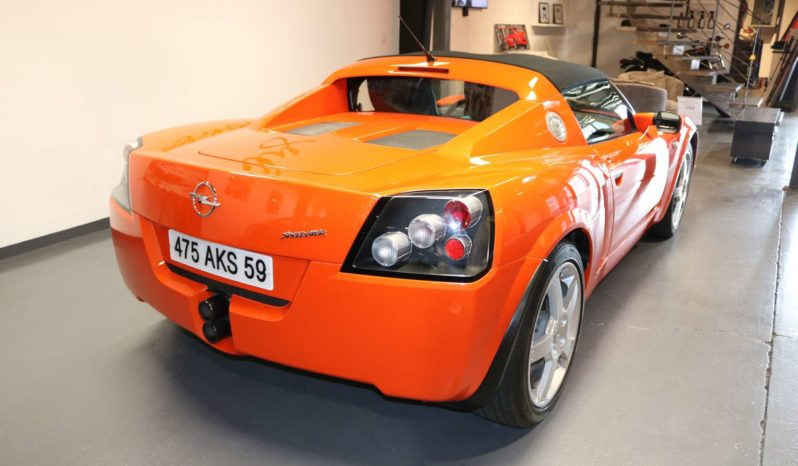 OPEL SPEEDSTER 2001 full
