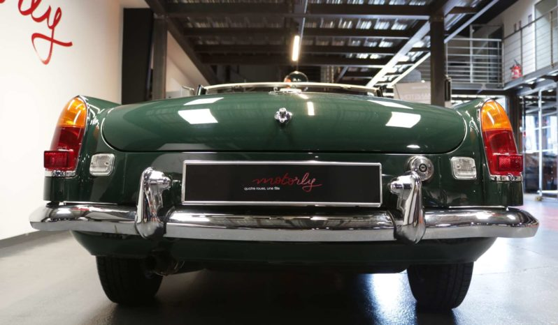 MG B Cabriolet 1967 full
